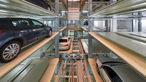 Volautomatische parkeergarage Den Haag